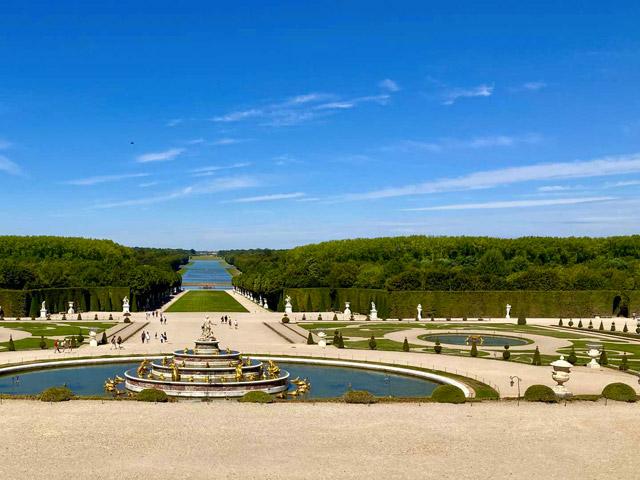 Jardins de Versailles, le Grand Axe - © Anne-Claire Morcrette