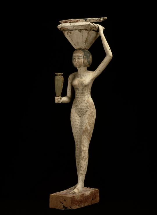La porteuse d'offrandes à la pièce de bœuf, Musée du Louvre