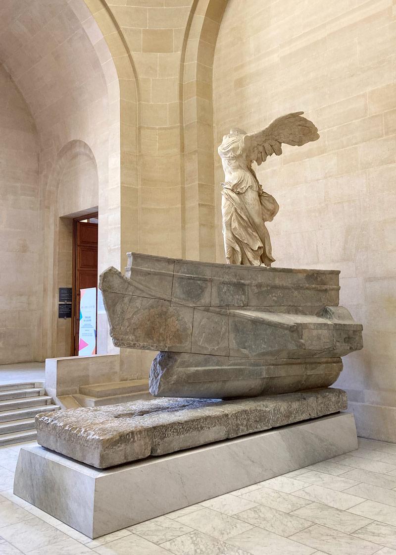La Victoire de Samothrace - © Anne-Claire Morcrette
